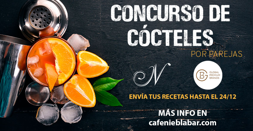 Concurso por parejas de la mano de Niebla Cocktail Bar  y Global Premium Brands
